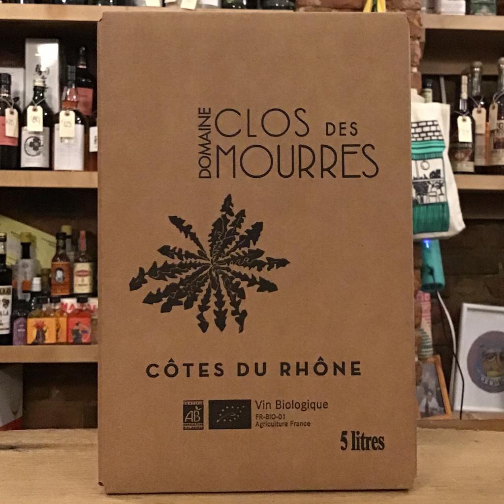 Clos des Mourres, Côtes du Rhône (NV) 5L