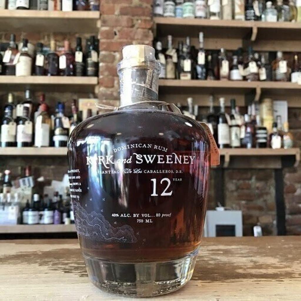 Kirk Sweeney 12 year rum