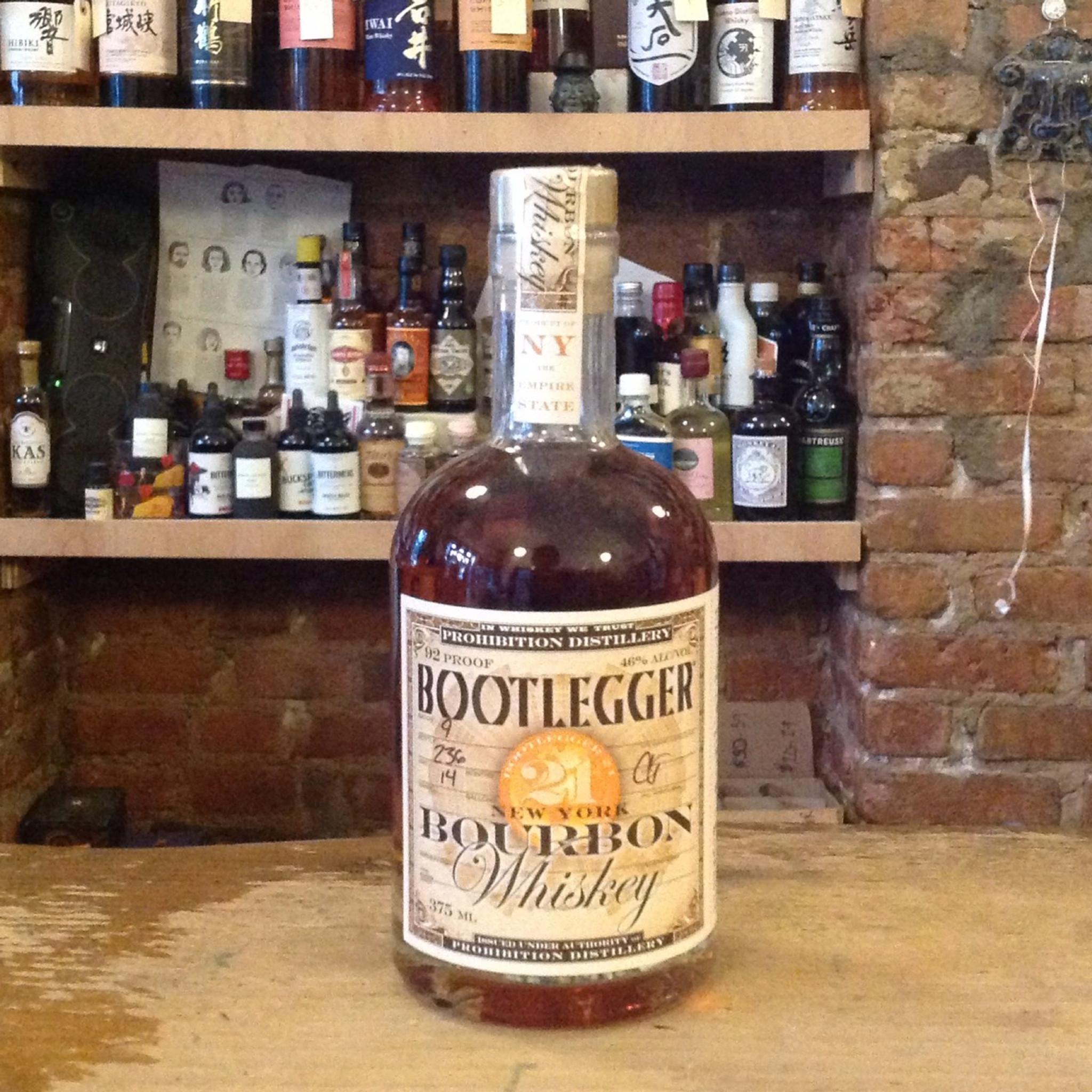 Prohibition Distillery Bootlegger 21 Bourbon (375ml)