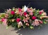 Lily and Rose Coffin Spray