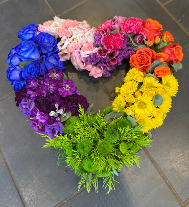 1.Rainbow Heart
