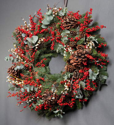 6.Christmas Door Wreath Home Kit