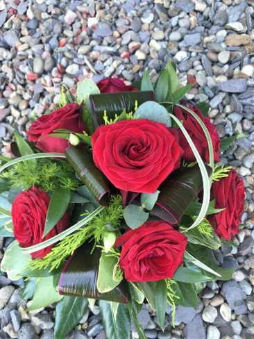 Red Rose Bowl Posy Bowl