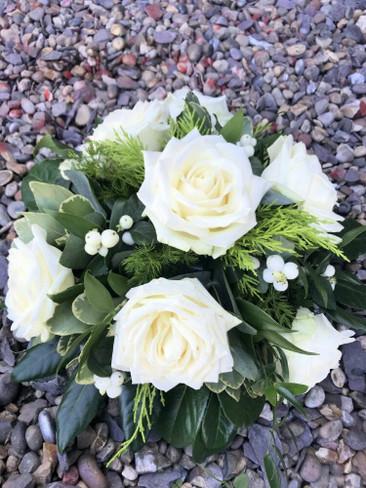 Ivory Rose Posy Bowl