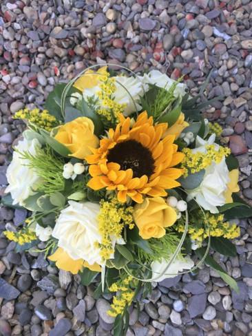 Sunflower Posy Bowl