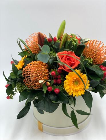 autumnal hatbox