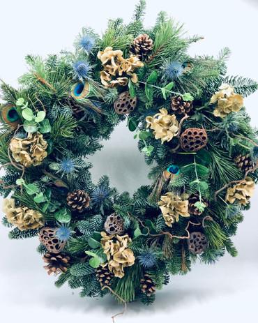 Luxurious Woodland Door Wreath