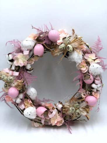 Easter Door Wreath - Pretty Pastel
