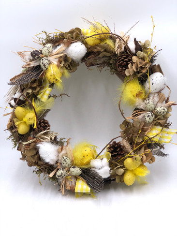 Easter Door Wreath - Natural