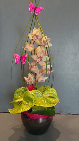 2.Caged Orchid Design