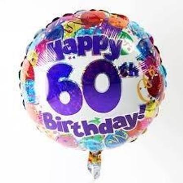 60th Balloon
