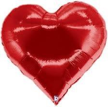 5.Red Heart Balloon