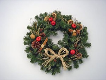 Classic Door Wreath