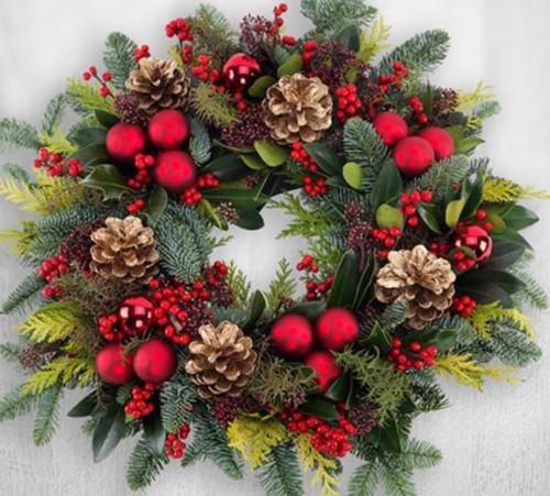 Luxury Christmas Door Wreath