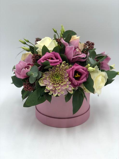 A Floral Hat Box