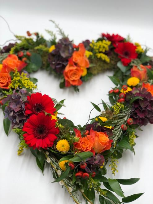 Autumnal open heart