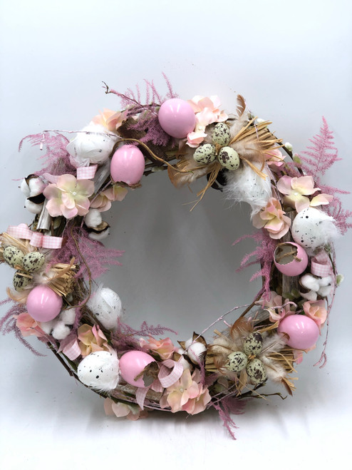 Easter Door Wreath - Pretty Pastel