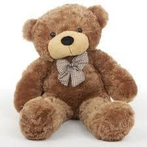 2.Fluffy Brown Teddy Bear