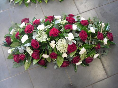 Red Rose mix Coffin Spray