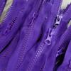 90 cm Separable Zipper:  Purple