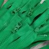 90 cm Separable Zipper:  Green