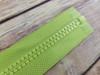 75 cm Separable Zipper:  Lime