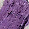 45 cm Separable Zipper:  Plum