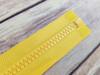 75 cm Separable Zipper:  Yellow
