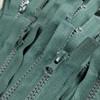 75 cm Separable Zipper:  Juniper Green