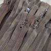 45 cm Separable Zipper:  Brown
