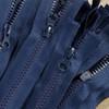 75 cm Separable Zipper:  Navy