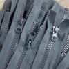 75 cm Separable Zipper:  Grey