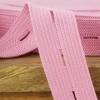 Buttonhole Elastic:  Pink