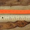 Buttonhole Elastic:  Neon Orange