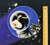 Space Cow: Digital Panel French Terry, Stenzo  (approximately 80 cm)