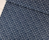 Connecting Lines, Navy:  Cotton Poplin