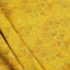 Waves, Ochre:  Viscose Knit