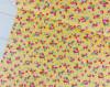 Strawberry Fields, Yellow: Cotton Woven Poplin