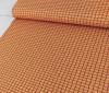 Grid, Apricot:  Jersey Knit