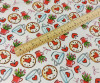 Strawberry Tea: Digitally Printed Lawn Cotton