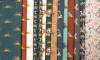 Savanna Fun, Rust:  Digital Jersey Knit