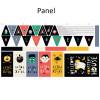 Halloween Kit:  Cotton Poplin Panel From Katia (approximately 80 cm)
