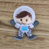 Astronaut:  Iron-on Applique