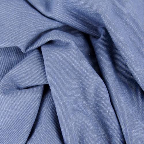 Austen, Denim-Look Jersey Knit: Soft Blue
