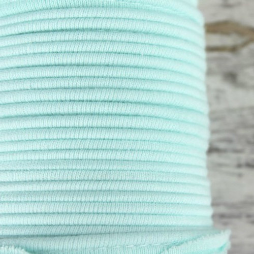 Cotton Knit Piping:  Mint