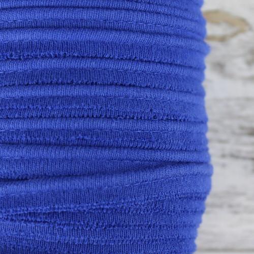 Cotton Knit Piping:  Royal Blue