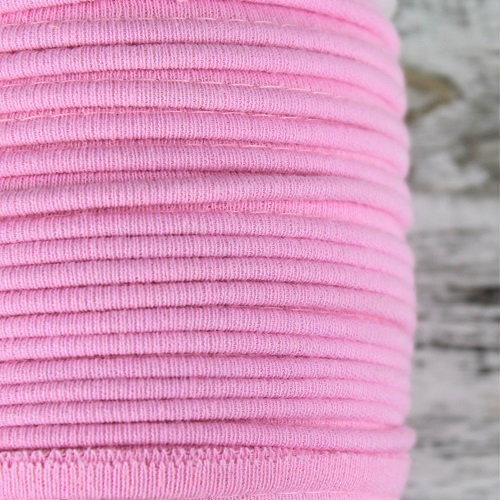 Cotton Knit Piping:  Pink