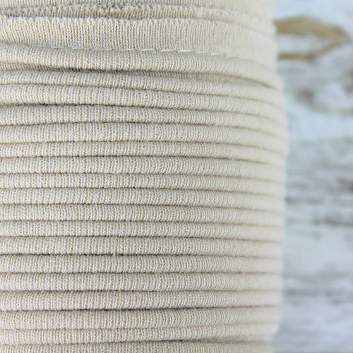 Cotton Knit Piping:  Linen