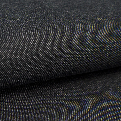 Austen, Denim-Look Jersey Knit:  Granite