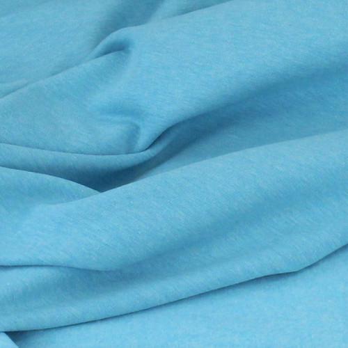 Eike: Brushed Heathered Sweatshirt, Turquoise
